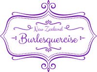 Burlesquercise Logo With Border